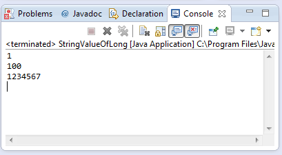 java string indexOf(long) method example