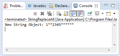 java string replaceall method example