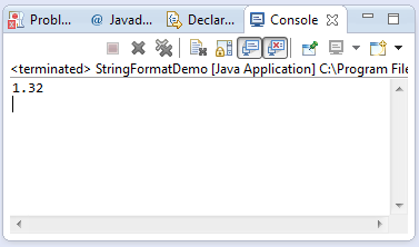 java string template - java string format string format object args method