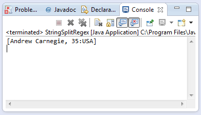 string split method example