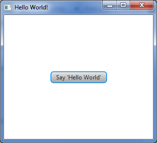 hello word application