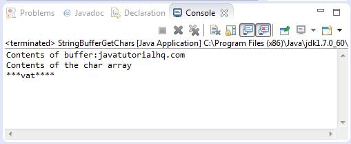 setCharAt(int index,char ch)