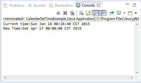 Java compare date example.